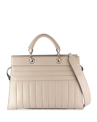 Leather Bag Large White Tote Shadow Altuzarra wc6xFEYqgB