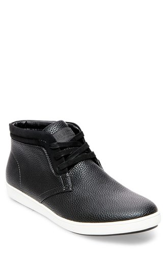 Madden Fenway Black Sneaker Men's Steve Leather Uxq6Hn