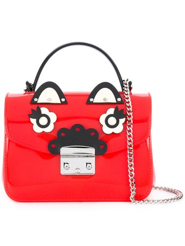 Mini Furla Bag Red Cross Body Metropolis gfxpwfH