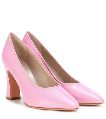Leather Isa Maryam Pumps Nassir Pink Zadeh qgpwPvpF