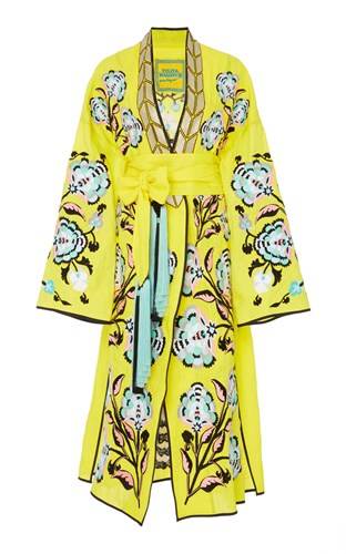 Favorite Wife M'o Yuliya Magdych Robe Exclusive Yellow vRwtqx