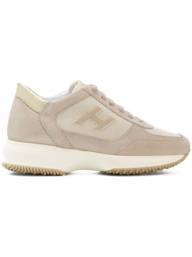 Lace Nude Neutrals Sneakers Hogan Up And UwfF0