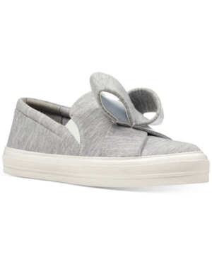 Women's Fabric Grey Odinella West Slip Sneakers Shoes On Nine 7fXw8xxq