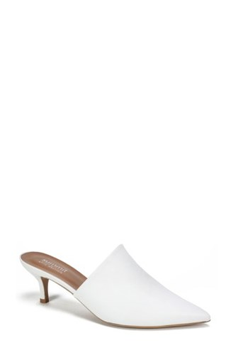 Summit Piper Pointy Toe Mule Latte Leather o3S3zuE