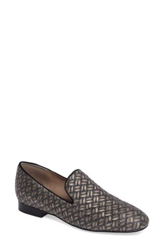 Donald J Pliner Women's Lyle Loafer Platino Leather 4YrYQ