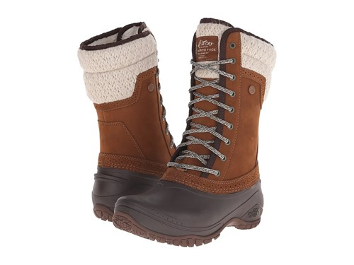 The North Face Shellista Ii Mid Dachshund Brown Demitasse Brown Women's Cold Weather Boots WAzbr0hPO