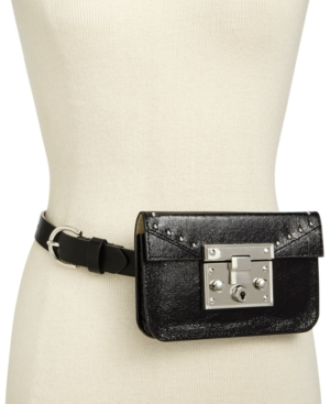 Steve Madden Structured Belt Bag Black eN2gKVL