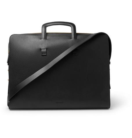 Black Leather Grain Slim Full Miansai Briefcase qtwPxAXtz