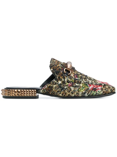 Ash Rose And Leopardprint Enjoy Mules Multicolour 6zNif