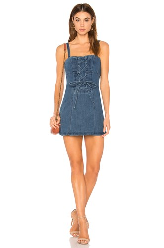 Inverse Denim Dress Finders Blue Keepers ZHFxPqznw5