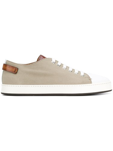 Santoni Low Top Sneakers Nude And Neutrals lCmCp