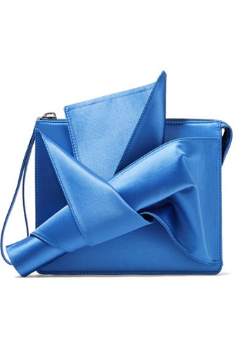 N°21 Clutch No Knot Satin Azure rqv6Xq0