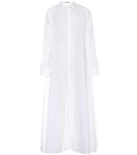 White Sander Dress Cotton Jil Shirt BR6pRq