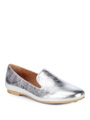 Loafers Gentle Eugene Leather Metallic Souls Silver wCqZzT