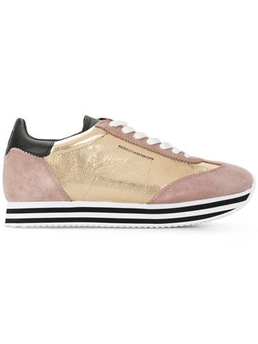 And Nude Minkoff Neutrals Platform Striped Sneakers Panel Rebecca yFwqd6YnPY