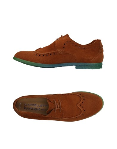 Up Brown Shoes CAPPELLETTI Shoes Up Brown CAPPELLETTI Brown Lace Up Shoes CAPPELLETTI Lace Lace RBxPwnq