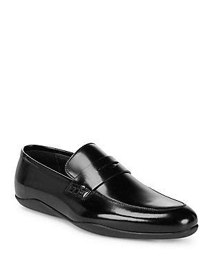 of Leather Harry's Polished Black Loafers London 1ZRng
