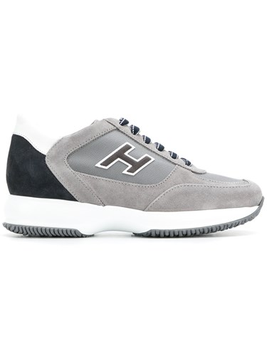Hogan New Interactive Panelled Sneakers Grey 132MOG
