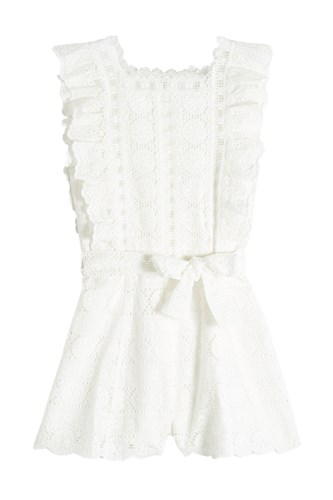 Zimmermann Zimmermann Playsuit Playsuit Playsuit White White Zimmermann Lace Zimmermann Lace White Lace 7HxfUH