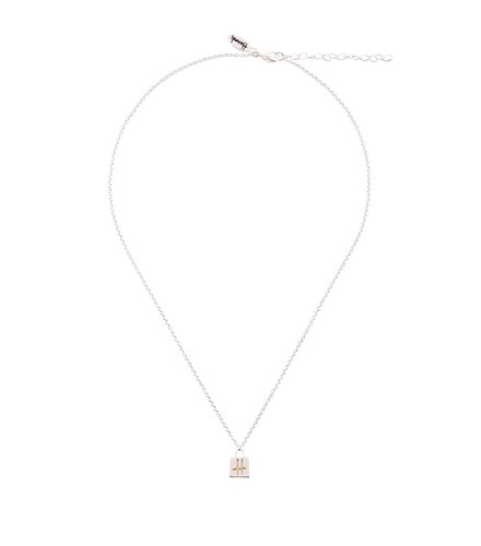 Tote Tote Plated Plated Silver Harrods Silver Harrods Necklace Necklace a4nvx