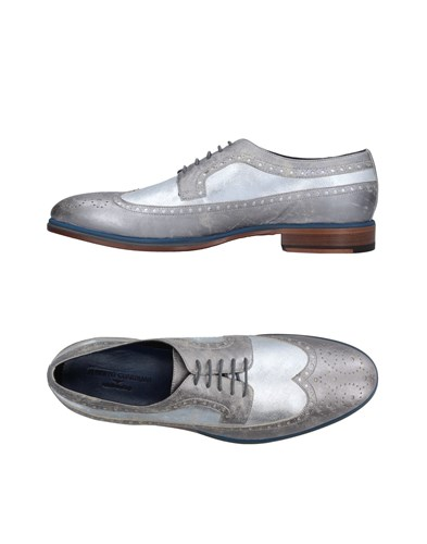Alberto Guardiani Lace Up Shoes Silver SEvUE