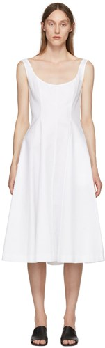 Khaite White Dress Cindy Dress Khaite Cindy White vTnqHSTU