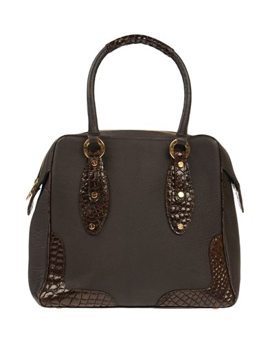 Paolo Dark Handbags Brown Zanoli By Dibrera gqw5AHUH