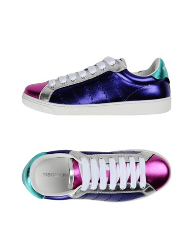 DSquared Sneakers Purple Dsquared2 DSquared Dsquared2 rPRwWSOFrq