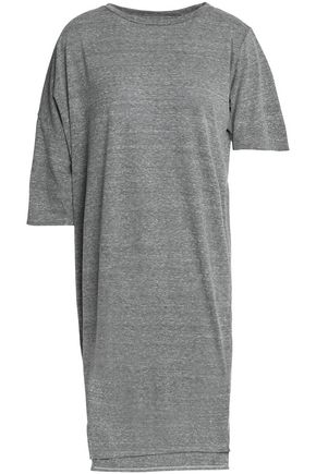 Gray Melange Asymmetric Jersey Cotton OAK Dress nZXAUqP
