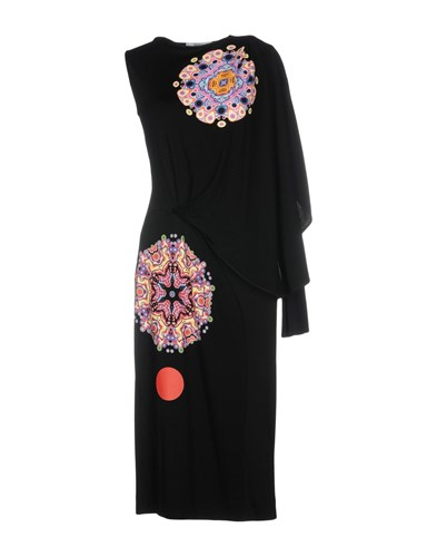 Givenchy Knee Length Dresses Black alA7wiK