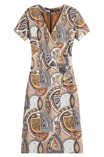 Sheath Etro Etro Sheath Etro Printed Multicolor Dress Printed Multicolor Dress PPw0TH