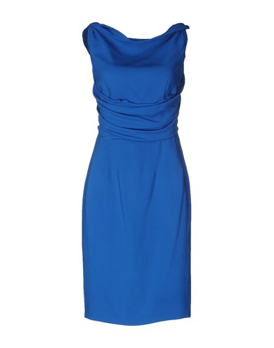 Dsquared2 Blue Dresses Length Knee DSquared cAdwqx8CW8