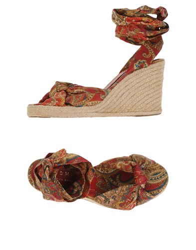 Espadrilles Red By Paloma Palomitas Barcelo Brick qv8tXzn