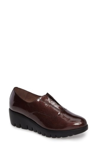 Wonders Women's Platform Derby Bordo Patent Leather GQjBCEIR