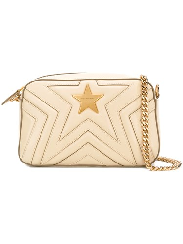 Nude Leather Shoulder Star Neutrals Stella McCartney Artificial Bag nqpavYSwY