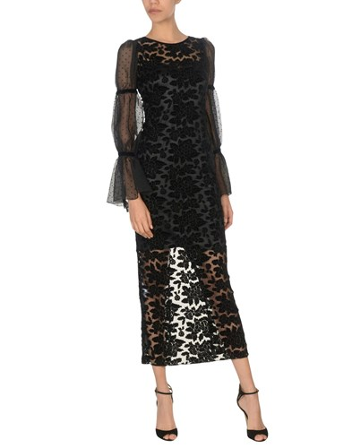 TENAX Long Dresses Black Pwf2oA