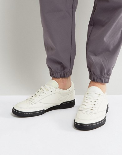 Reebok Club C 85 Np Trainers In White Bs7683 White HedUen4rb