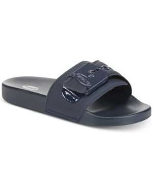 Dr. Scholl's Og Pool Slides Women's Shoes Navy Neoprene N3X4YkGG7I