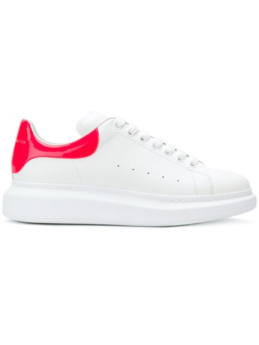 Alexander McQueen Extended Sole Sneakers Calf Leather Leather Rubber White 8NQPwL