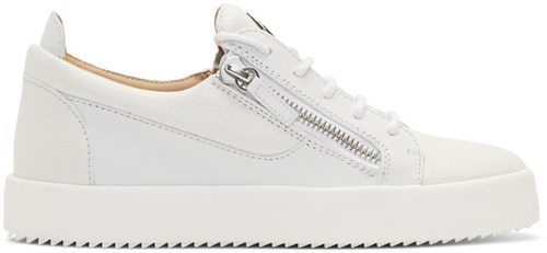 Giuseppe Zanotti White May London Sneakers T9mwISOLa