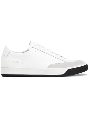 Common Projects White Leather Tennis Pro Sneakers Leather Rubber hmeCsQ