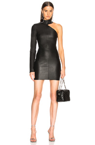 RtA Leather Lulu Black In Dress PwFvr5Pq