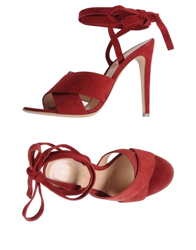 Gianvito Rossi Sandals Red r2sb7Lf4zF