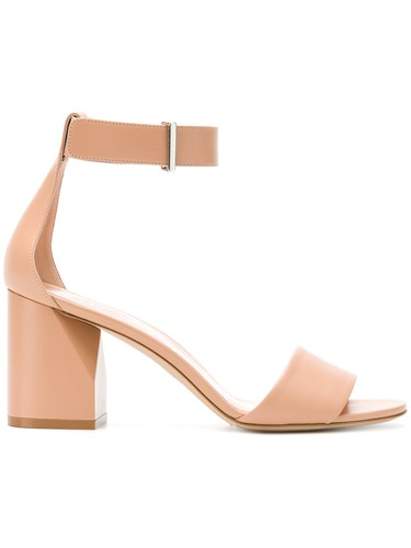 Neutrals And Strap Nude Ankle Sandals Sportmax 7wPqX4K