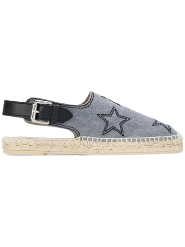 Star Grey Embroidered Espadrilles Stella McCartney 8wPqxRz
