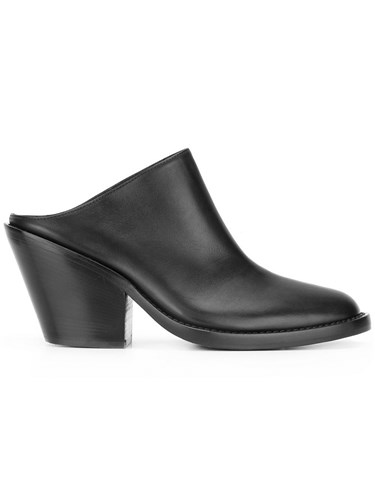 Classic Demeulemeester Blanche Ann Black Mules PHpxxfqw