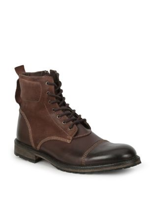 Boots Tan Ankle Leather GBX Toe Cap xqUcTI