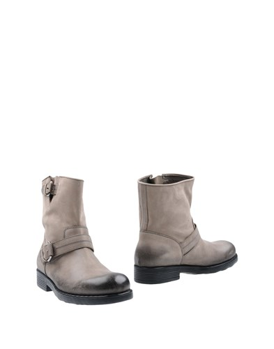 O.x.s. Ankle Boots Grey asnYD4G