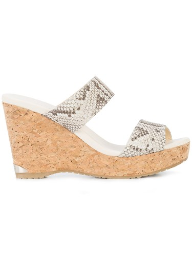 Choo Parker 100 Wedge Jimmy Unavailable Sandals qHCdqU