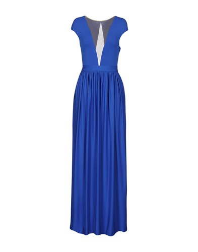 Space Style Concept Long Dresses Bright Blue 8l4THE